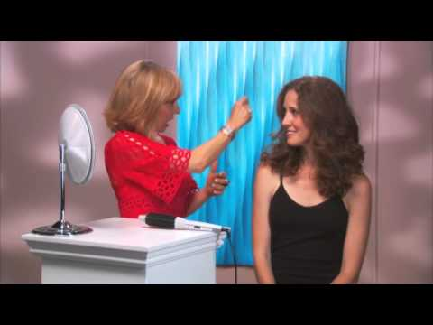 Frizzy Wavey Hair To Smooth Defined Curls - Perfecter Fusion Styler
