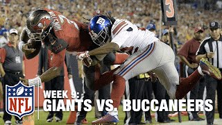 Jameis Winston Takes Flight for this Amazing TD! | Giants vs. Buccaneers | NFL