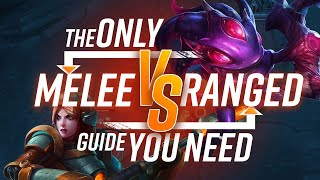 The ONLY Range vs Melee Guide (BOTH SIDES) You NEED!!