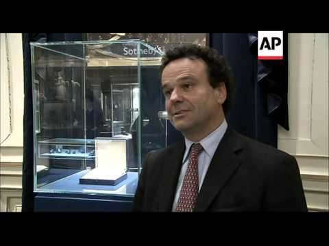 Sotheby''s auctions a stone passed down through four royal families