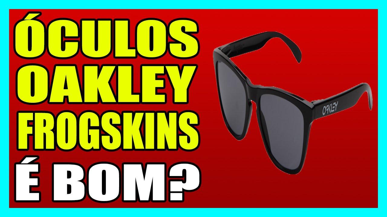8839d763f0b77 ÓCULOS OAKLEY FROGSKINS - Óculos, Oakley, Frogskins - YouTube