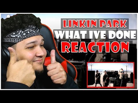 🎤 HipHop Fan Reacts To Linkin Park  What Ive Done 🎸
