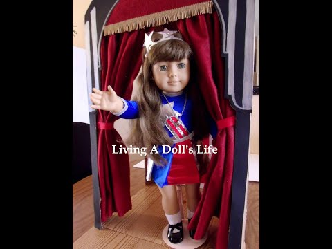 How To Make American Girl Molly's Stage & Theater