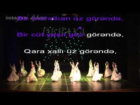 Azeri Karoke -Abbas Bagirov Ay sevgilim  (Hazirladi; DJ BAXA )
