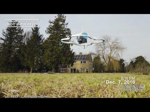 Airborne 12.16.16: Amazon Prime Air, Saving Santa Monica, Thunderbird Accident Report