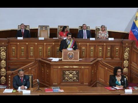 Nicolás Maduro en la Asamblea Constituyente, discurso completo, 7 septiembre 2017