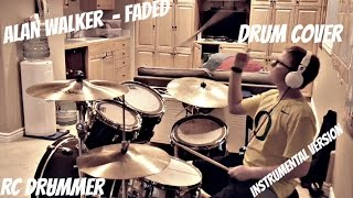 Скачать Alan Walker Faded Instrumental Version Drum Cover