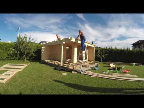 Relativ Welches ist der einfachste Weg ein hölzernes Gartenhaus zu bauen SX96