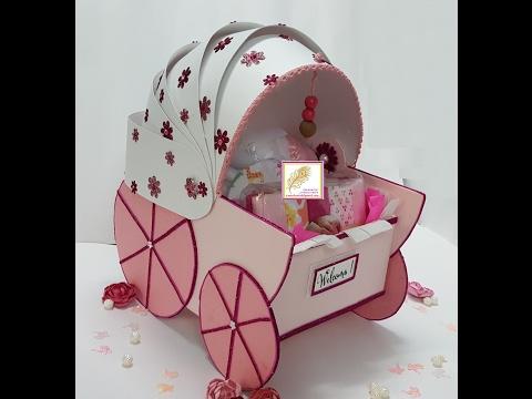 handmade-baby-girl-stroller-gift-box