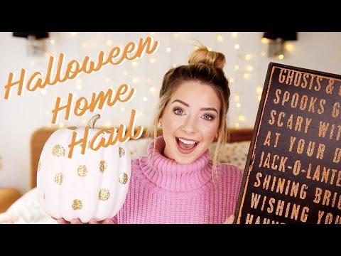 Autumn & Halloween Home Haul | Zoella