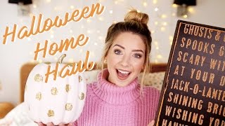 Autumn & Halloween Home Haul | Zoella