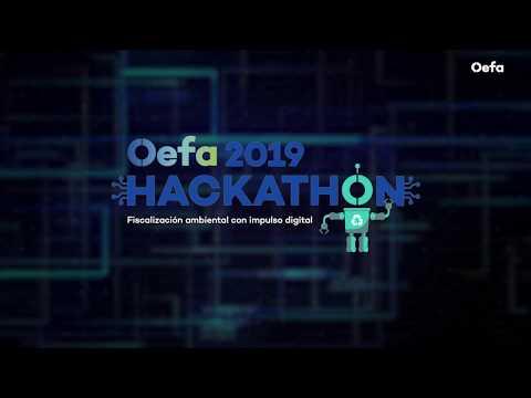 Participa en la Hackathon OEFA 2019