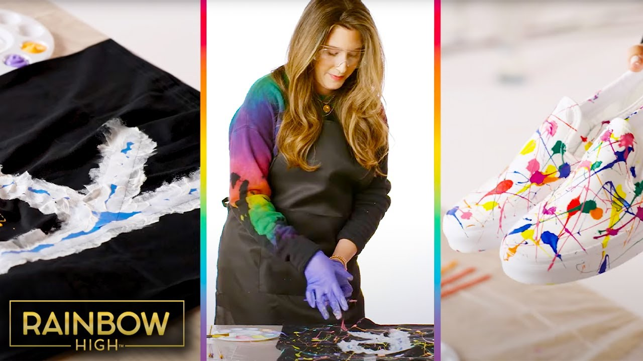 Learn from a Real Life Fashion Designer!   Rainbow High