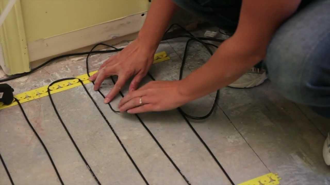Comment Installer Un Plancher Chauffant Ce Nest Pas