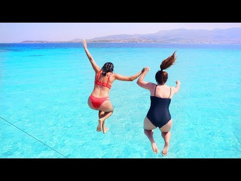 Bluest Water in the World | Paros, Greece