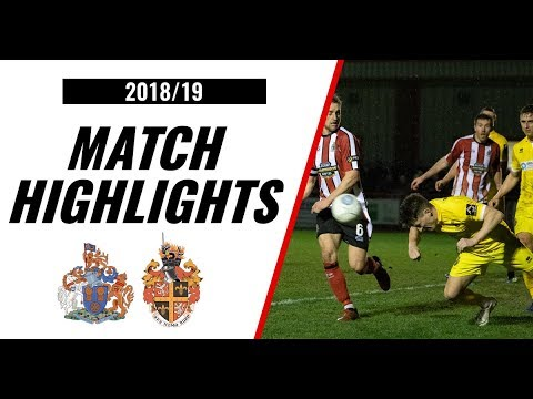 HIGHLIGHTS | Altrincham 0-2 Spennymoor Town | 2018/19