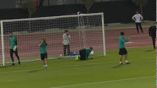 Moha Ramos pulls off amazing double save in Real Madrid training
