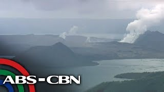 Live shot of the Taal Volcano (24 January 2020) | ABS-CBN News