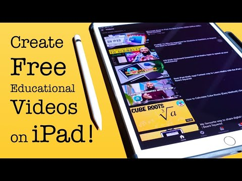 how-to-create-educational-videos-for-free-on-ipad