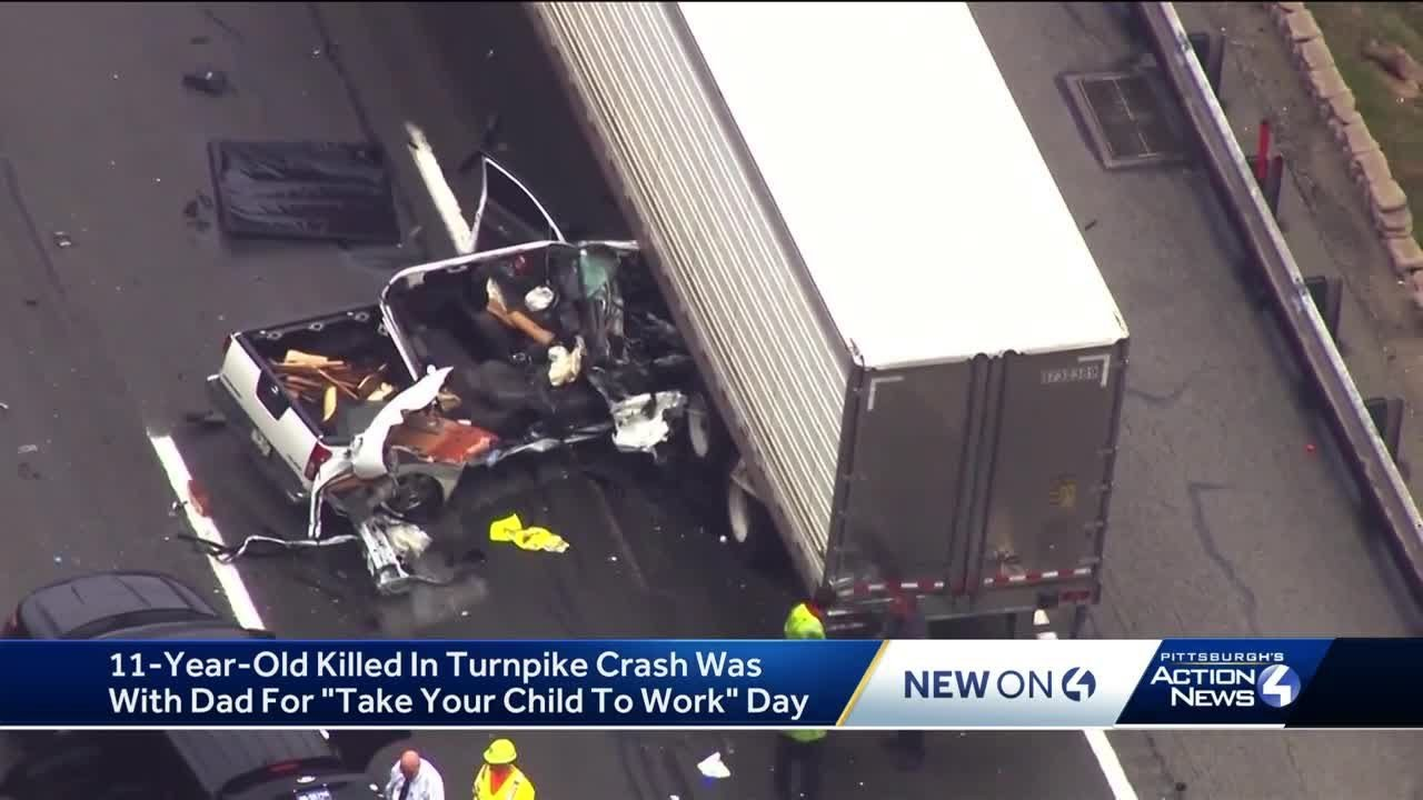 Boy killed in Pennsylvania Turnpike crash was with dad on 'Take Our  Daughters and Sons to Work Day'