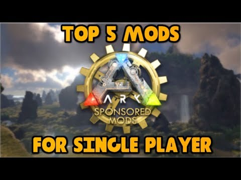 TOP 5 BEST MODS FOR SOLO PLAY! Ark: Survival Evolved