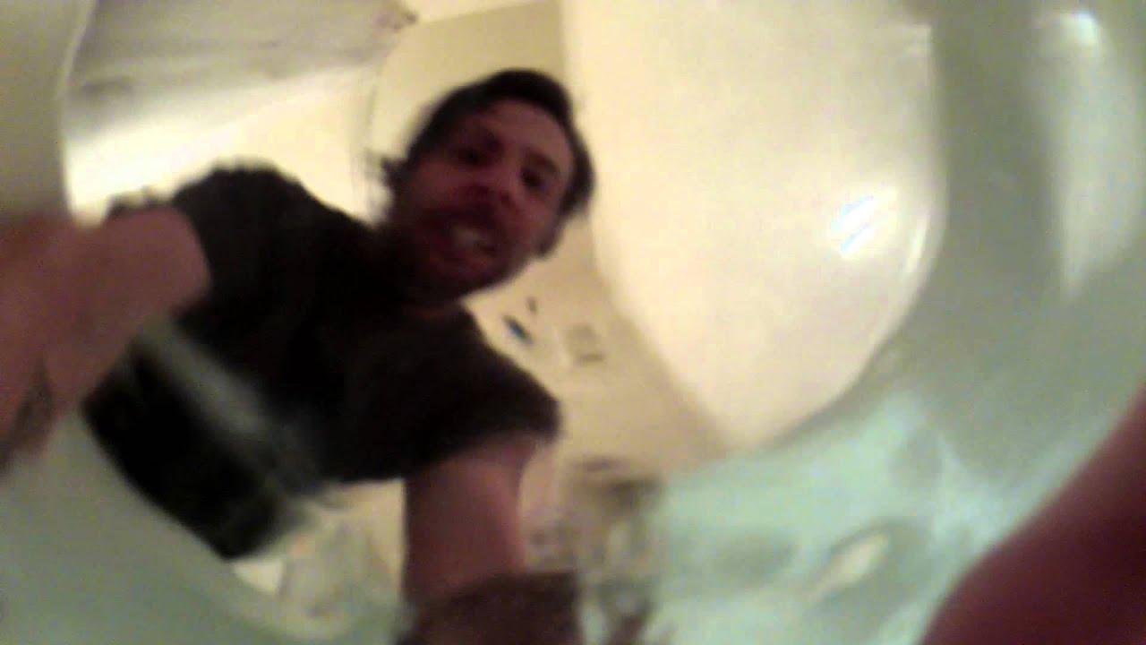 Drowning In Bathtub Go Pro HD Hero2 Test YouTube