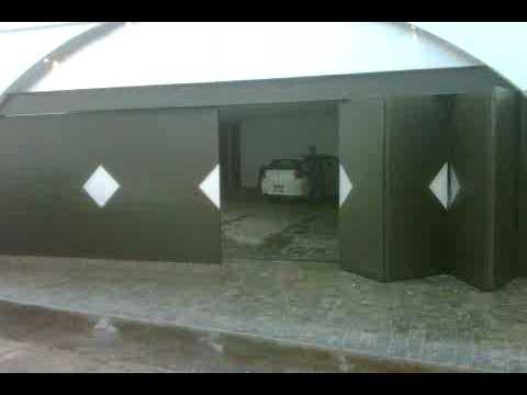 Puerta automatica muy dificil parte 2 plegadiza de 8 hojas for Hojas plegables