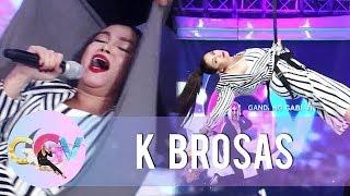 K Brosas accepts Vice Ganda's Kalerki-oke Challenge | GGV