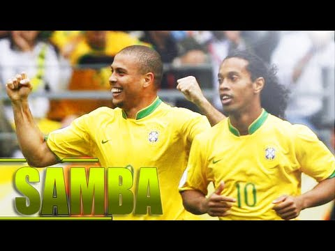 Ronaldo And Ronaldinho -  Samba | HD