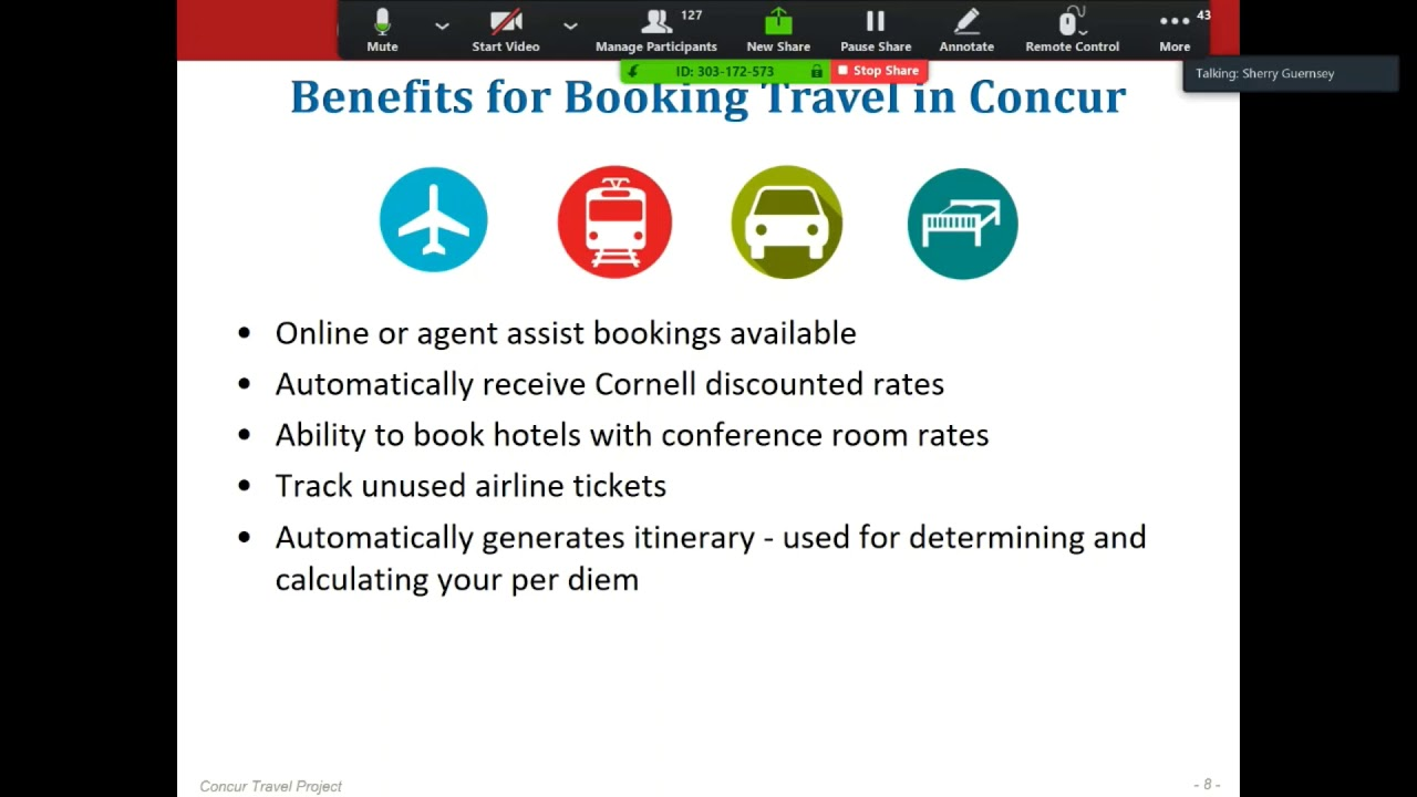 Learn what you can expect from Cornell's new Travel system