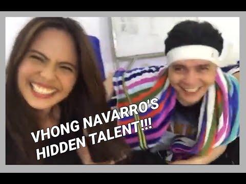 Me sekreto palang talent itong si Vhong Navarro!! Buking na😜