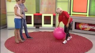 Упражнения с фитболом для похудения