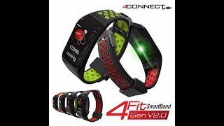 4Fit Gen V2.0 Smartband with Colour Display cara penggunaan 4fit band screenshot 3