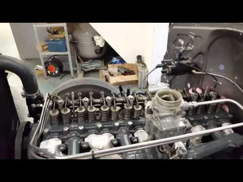Buick straight eight running 1941