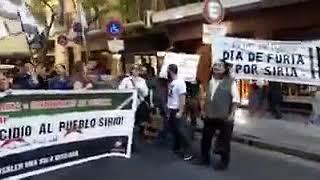 Аргентина...демонстранты кричат ПУТИН ФАШИСТ, ОН ТЕРРОРИСТ!!!