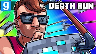 Gmod Death Run Funny Moments - Beating M Rated Minecraft! (Garry