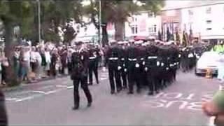 Falkland Islands remembrance parade Exmouth 20/05/07