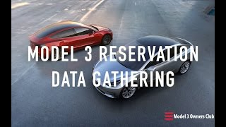 Tesla Model 3 Reservation Data Gathering | Model 3 Owners Club
