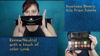 Video Anastasia Prism Palette Neutral with touch of Color Makeup Look download MP3, 3GP, MP4, WEBM, AVI, FLV Juli 2018