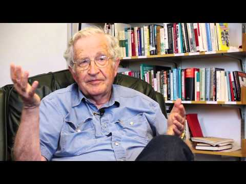 Interviewing Noam Chomsky on Campaign Finance Reform