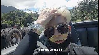 하와이 젝스키스(SECHSKIES) 젝키 강성훈 셀카(지나가는 사람도 느낌으로 알아보는 케이팝 스타)