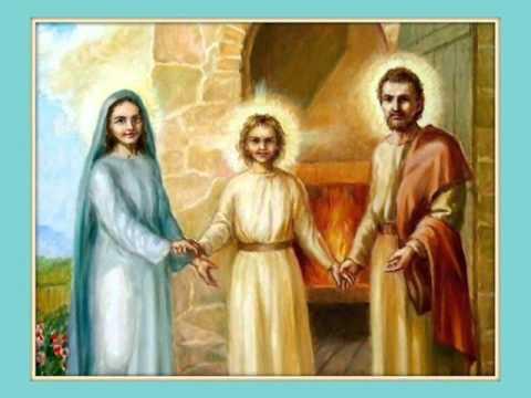 Canto alla Santa Famiglia di Nazareth