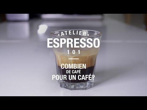 Espresso 101 - Combien de café pour un café ?