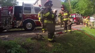 Brackenridge house fire helmet cam full first video thumbnail