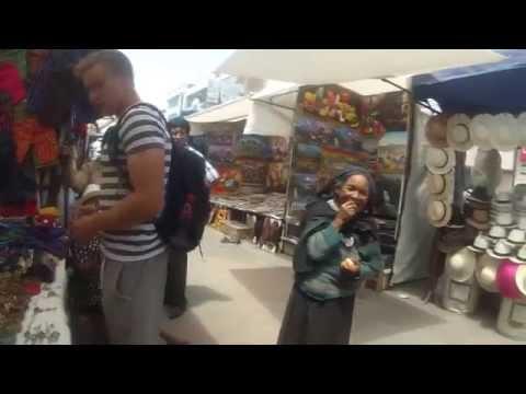 Crazy Lady In Otavalo Market (pt. 04)