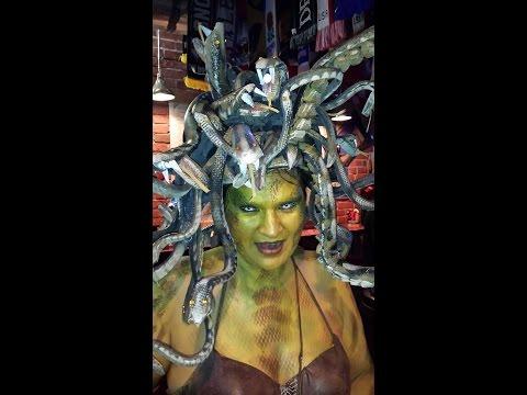 Medusa Costume Headpiece Tutorial