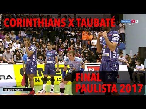 Corinthians x Taubaté - Final - Paulista de Vôlei Masculino 2017