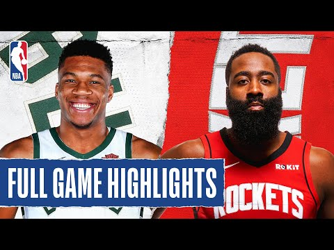 BUCKS at ROCKETS | FULL GAME HIGHLIGHTS | August 2, 2020