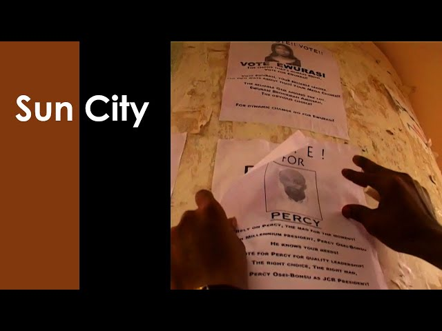 RETRO DAYS - Sun City - JCR Elections 1 | TV SERIES GHANA