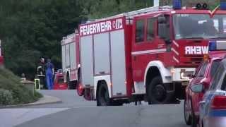 NRWspot.de | Letmathe – Chemieunfall bei Lobbe – 70 Feuerwehrleute viele Stunden im Einsatz